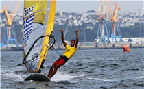 Byron Kokkalanis Gold Medal RS:X European Windsurfing Championship 2013